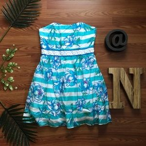 Lilly Pulitzer Floral Beaded Jordan Dress